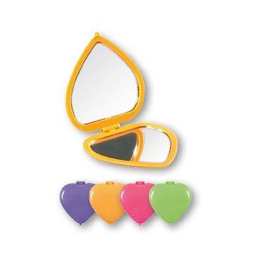 Top Choice Colours lusterko kompaktowe-serce (85550) 1 szt.