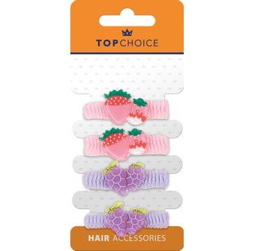 Top Choice – Frotki do włosów 22951 (4 szt.)