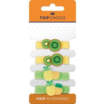 Top Choice – Frotki do włosów 22968 (4 szt.)