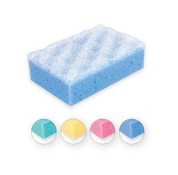 Top Choice gąbka do kąpieli prostokąt mix 4 kolorów (30437) 1 szt.