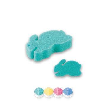 Top Choice – gąbka kąpielowa myjka dla dzieci królik mix (30611) 1 szt.