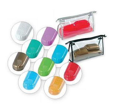 Top Choice – komplet toaletowy z kosmetyczką mix (41372) 1 szt.