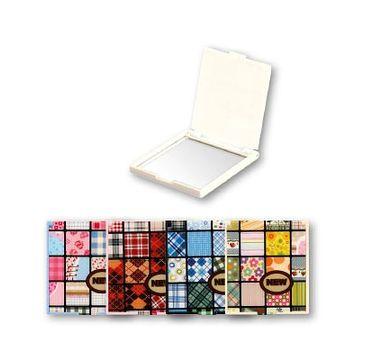 Top Choice – lusterko kieszonkowe kwadratowe mix (85505) (1szt.)