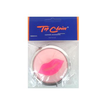 Top Choice lusterko kieszonkowe okrągłe usta (85680) 1 szt.