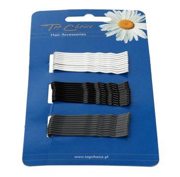 Top Choice wsuwki do włosów 3 kolory (23729) 1 op. - 30 szt.