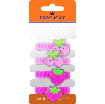 Top Choice – Frotki do włosów 22937  (1op.- 4 szt.)