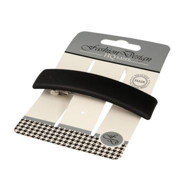 Top Choice – Fashion Design Spinka do włosów automatyczna czarna-mat 26324 (1 szt.)