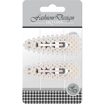 """Top Choice – Fashion Design Spinki typu """"Pyk"""" perła biała 23798 (1 op.- 2 szt.)"""