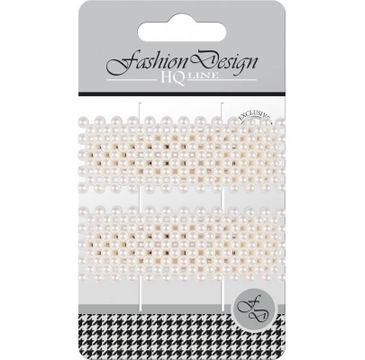 """Top Choice – Fashion Design Spinki typu """"Pyk"""" perła biała 23828 (1op.- 2 szt.)"""