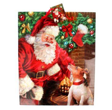 Torebka ozdobna świąteczna rozmiar L mix wzorów 1 szt.