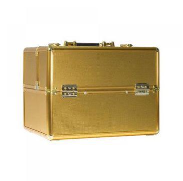 Comfort Plain – kufer z przegródkami na lakiery Gold (1 szt.)
