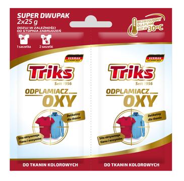 Triks Oxy odplamiacz do tkanin kolorowych w proszku 2x25g