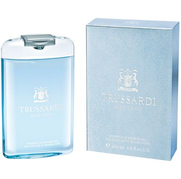 Trussardi Blue Land - żel pod prysznic 200 ml