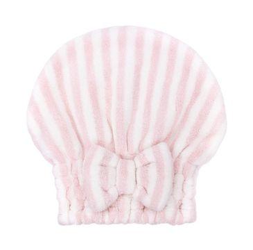 Trust My Sister Czepek do włosów z mikrofibry Pink (1 szt.)