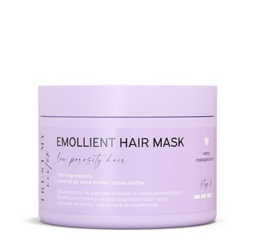 Trust My Sister Emollient Hair Mask maska do włosów niskoporowatych (150 g)