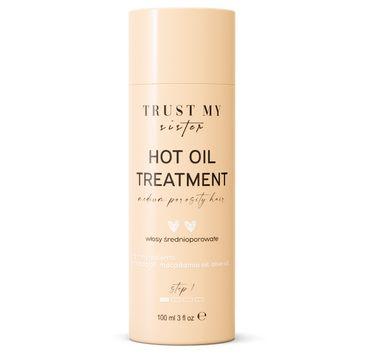 Trust My Sister Emollient Hair Mask olej do włosów średnioporowatych (100 ml)