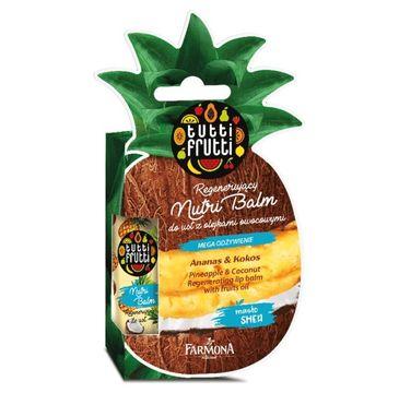 Tutti Frutti – Balsam do ust regenerujący Ananas & Kokos (12 ml)