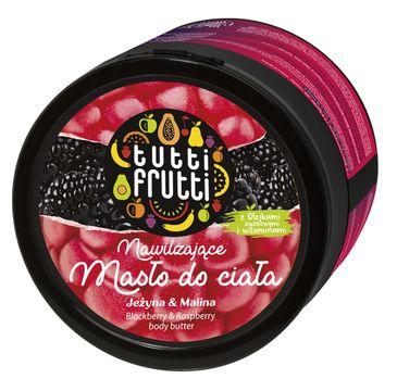 Tutti Frutti Jeżyna & Malina nawilżające masło do ciała 200 ml