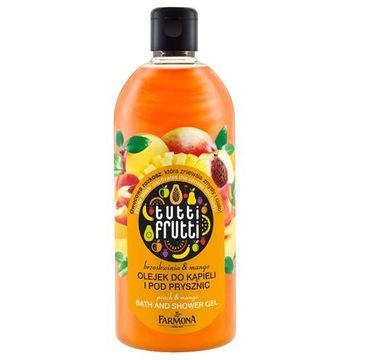 Tutti Frutti Mango & Brzoskwinia olejek do kąpieli i pod prysznic 500 ml