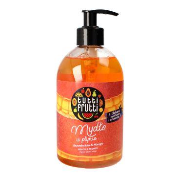 Tutti Frutti mydło w płynie Brzoskwinia & Mango 500 ml