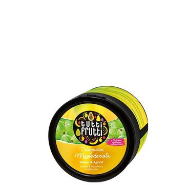 Tutti Frutti odżywcze masło do ciała  banan & agrest 200 ml