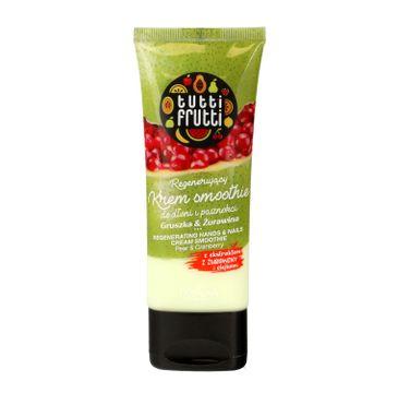 Tutti Frutti – regenerujący krem smoothie do dłoni i paznokci Gruszka & Żurawina (75 ml)