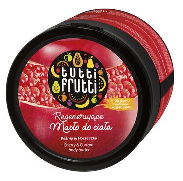 Tutti Frutti Wiśnia & Porzeczka masło do ciała 200 ml