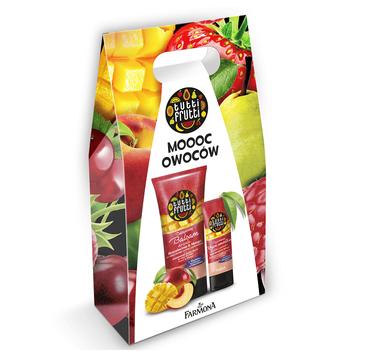 Farmona – zestaw prezentowy Tutti Frutti Brzoskwinia&Mango (krem do rąk 75ml+balsam do ciała 200ml)