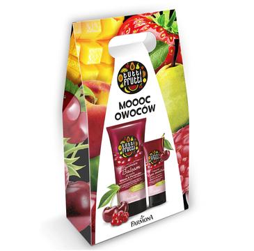 Farmona Tutti Frutti – zestaw prezentowy Wiśnia & Porzeczka (krem do rąk 75ml + balsam do ciała 200ml)