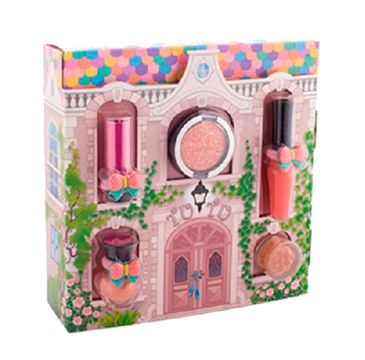 Tutu Domek zestaw prezentowy 5 kosmetyków 02 Peach Ballerina