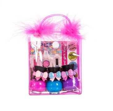 Tutu Peel-Off zestaw prezentowy lakierów do paznokci w kosmetyczce 11 3 x 5 ml