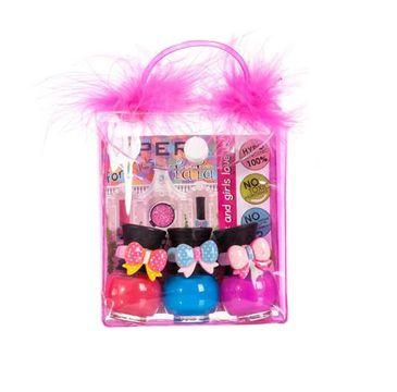 Tutu Peel-Off zestaw prezentowy lakierów do paznokci w kosmetyczce 14 3 x 5 ml