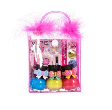 Tutu Peel-Off zestaw prezentowy lakierów do paznokci w kosmetyczce 15 3 x 5 ml
