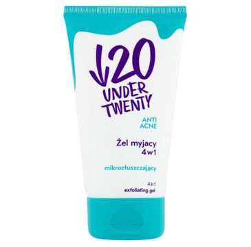 Under Twenty Anti Acne Washing Gel normalizujący żel myjący 150ml