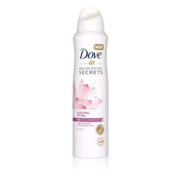 Dove – Glowing Ritual antyprespirant w sprayu (150 ml)