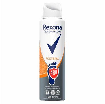 Rexona – Football antyperspirant w sprayu do stóp dla mężczyzn (150 ml)