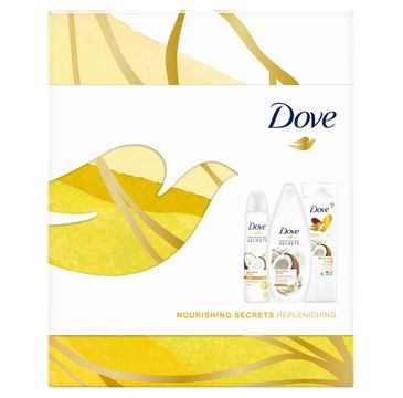 Dove Zestaw prezentowy Nourishing Secrets Replenishing deo spr.150ml + żel p/pr. 250ml+balsam d/ciała 250ml (1 szt.)