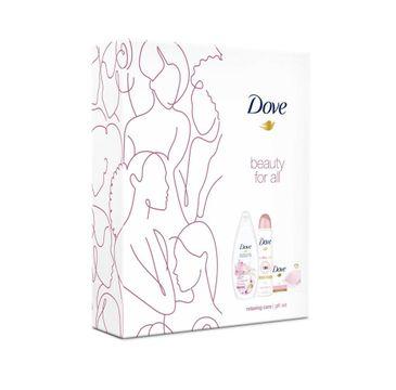 Dove Zestaw prezentowy Relaxing Care deo spr.150ml + żel p/pr. 250ml+mydło kostka 100g (1 sz.)