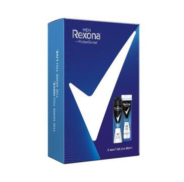 Rexona Men Zestaw prezentowy Cobalt dezodorant w sprayu 150ml+ żel pod prysznic 250ml (1 szt.)