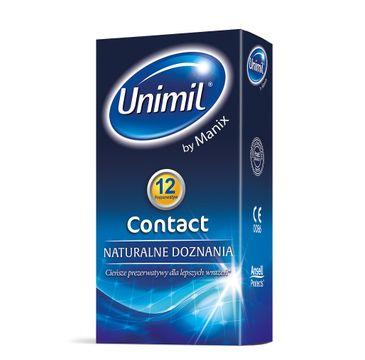 Unimil Contact lateksowe prezerwatywy 12szt