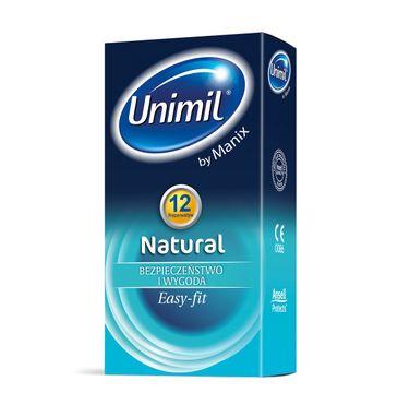 Unimil – Natural lateksowe prezerwatywy (12 szt.)