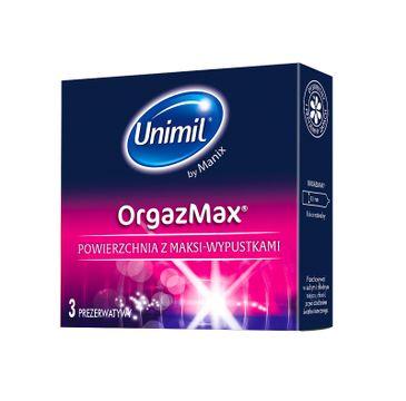 Unimil OrgazMax lateksowe prezerwatywy 3szt