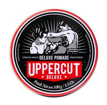 Uppercut Deluxe Pomade pomada do włosów Strong Hold (100 g)