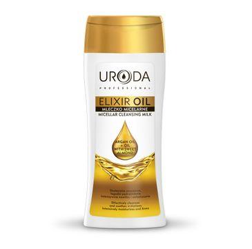 Uroda Elixir Oil Mleczko micelarne do demakijażu twarzy nawilżające i uelastyczniające 200 ml