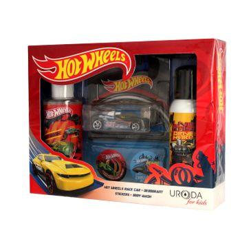 Uroda for Kids zestaw prezentowy Hot Wheels dezodorant 100 ml + żel pod prysznic 2w1 150 ml + resorak