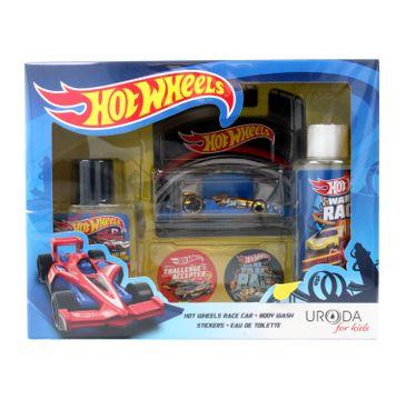 Uroda for Kids zestaw prezentowy Hot Wheels woda toaletowa 50 ml + żel pod prysznic 2w1 150 ml + resorak