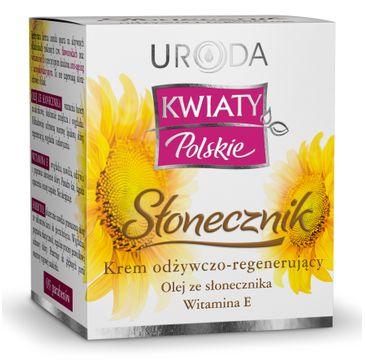 Uroda Kwiaty Polskie krem odżywczo regenerujący słonecznik 50 ml
