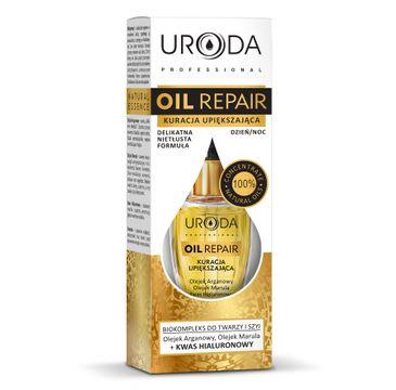 Uroda Oil Repair kuracja upiększająca do twarzy i szyi do skóry suchej odżywcza 10 ml