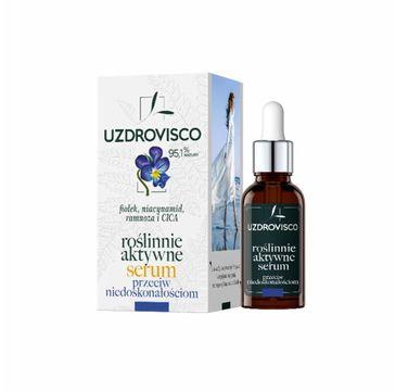 Uzdrovisco roślinnie aktywne serum przeciw niedoskonałościom (30 ml)