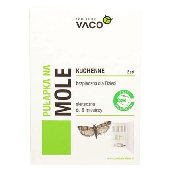 Vaco – Pułapka na mole spożywcze (2 szt.)